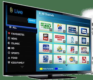 Joy for Smart TV's - Nayatel