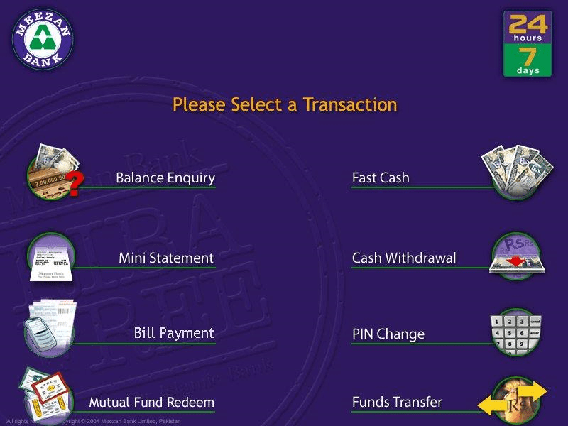 Meezan Bank payment Options - Nayatel